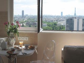 Panoramic view onto Paris, Wifi, phone free, Pool - Courbevoie vacation rentals