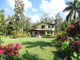 ON 3 ACRES WITH COASTLINE 80ft FROM OUR DRIVE WAY - Pahoa vacation rentals