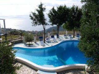 SEA VIEW VILLA WITH PRIVATE SWIMMING POOL - Campania vacation rentals