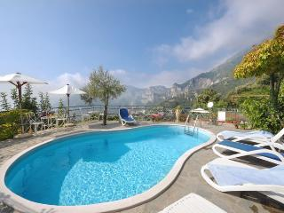 Sea View Villa with Pool in Positano Montepertuso - Positano vacation rentals