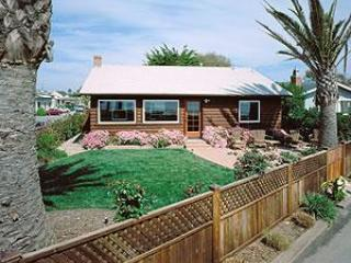 Exterier of beach bungalow log cabin - Oceanfront Beach Bungalow Cabin - Santa Cruz - rentals