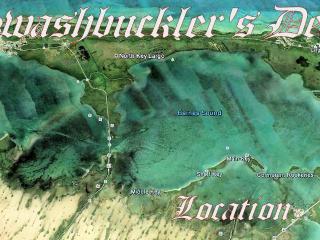 SWASHBUCKLER'S DEN - On the Water w/ 40 Foot Dock - Key Largo vacation rentals