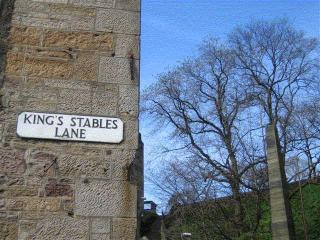 King's Stables, with view of Edinburgh Castle - Edinburgh vacation rentals