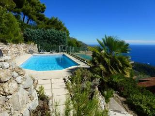New Nice Villa with Pool and Amazing View, 10 minutes to Monaco - Eze vacation rentals