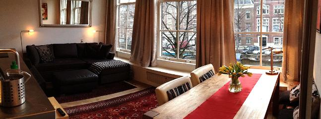 living/dining - Beautiful views over the Keizersgracht - Amsterdam - rentals