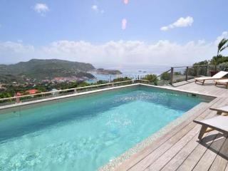 Private villa with incredible views up on the hill in Colombier WV ING - Colombier vacation rentals