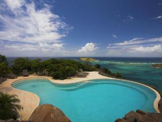 Mediterranean-style villa with unsurpassed ocean & bay views WV JAY - Mont Jean vacation rentals