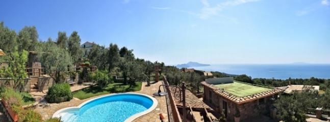 Marika,Gorgeous Villa with Panoramic Swimming Pool - Image 1 - Sorrento - rentals