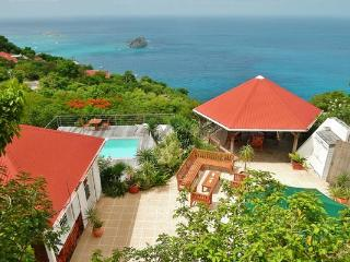 Charming villa offering dramatic views over Gustavia	 WV BAL - Colombier vacation rentals