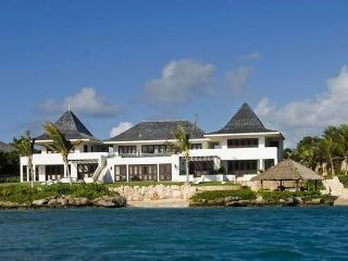 Luxury 10 bedroom Anguilla villa. Beachfront with spectacular views! - Little Dix vacation rentals