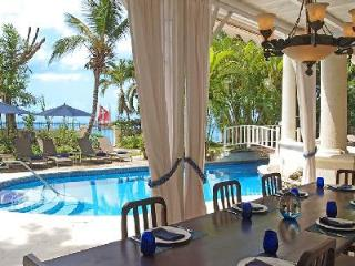 New Mansion steps to pristine beach with superb Caribbean views, pool & staff - Paynes Bay vacation rentals