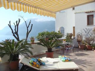 Casa Emilia - seaview apartment with large terrace - Praiano vacation rentals