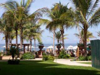 View from the patio - 1,2,or 3 bedroom luxury condo ON THE BEACH - Nuevo Vallarta - rentals