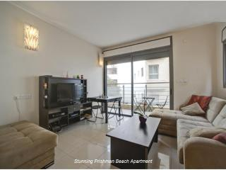 Stunning Beach Apartment Tel Aviv, Frishman Beach - Tel Aviv vacation rentals