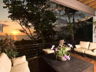 Casa Feliz - Tropical Getaway with Stylish Interior, Infinity Pool, Ocean View & Staff - Manuel Antonio vacation rentals