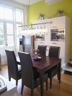 Large family Kitchen - Calm 2 story luxury apartment in centre. WIFI - Amsterdam - rentals