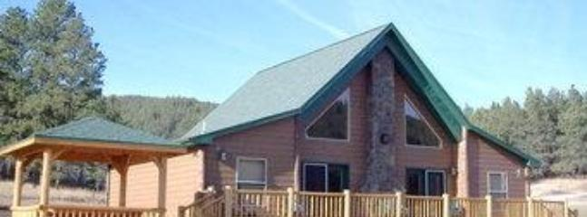 A front view of the cabin - Black Hills Vacation Rental Cabins - Hill City SD - Hill City - rentals