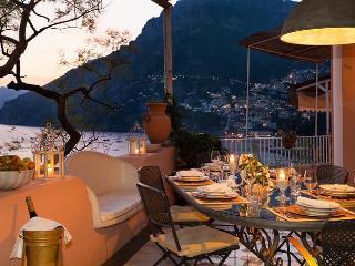 Luxury Positano Villa with AC & Private Sea Access - Positano vacation rentals