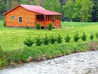 New Luxury Riverfront Cabin!!! - Marshall vacation rentals