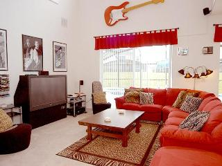 Hollywood Rock 'n Roll themed Home - Sleeps 16 - Orlando vacation rentals