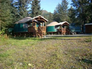 Yurt lodging in Seward -(2) 24ft.& (1)30ft. Yurt - Seward vacation rentals
