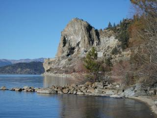 Zephyr Cove in the Cave Rock area Lake Front cabin - Glenbrook vacation rentals