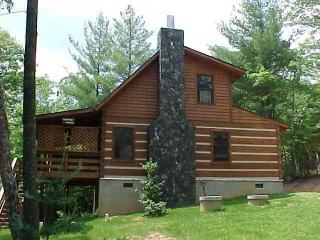 Log Cabin Near Boone/Hot Tub/Creek/WiFi/Hike/Fish - Boone vacation rentals