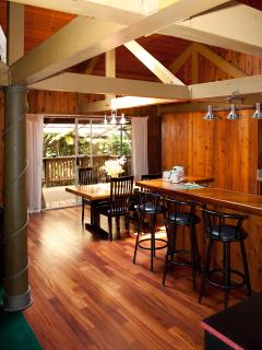 MAUNA LOA COTTAGE - Timber Pole House with HOT TUB - Volcano vacation rentals