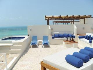 Ixchel Ocean Front Penthouse Luxury RooftopLounge - Isla Mujeres vacation rentals