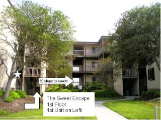 The Sweet Escape One Bedroom Beach Front Condo - Topsail Island vacation rentals
