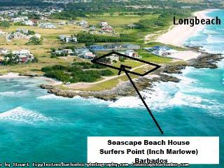 Seascape Beach House Ocean Front Tropical Cottage Surfers Point Barbados - Christ Church vacation rentals