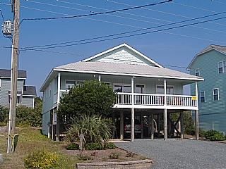 Outside Front - Vitamin Sea, 1331 S Shore Dr, SAVE UP TO $130!!! - Surf City - rentals