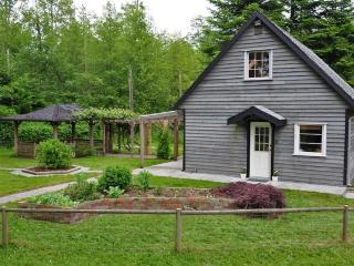 Willow Farm Cottage on 22 acre Quadra Island farm. - Lund vacation rentals
