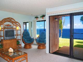 Sealodge D-4  Ocean Front Condo in Kauai - Princeville vacation rentals