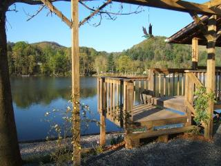 Hotub, Canoe, boat slip & rentals / Reserve online - Shady Valley vacation rentals