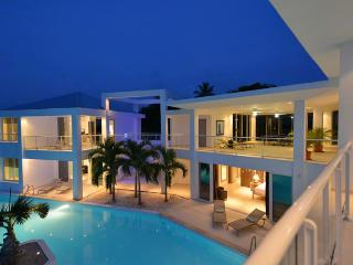 GRAND BLEU... the name says it all! Fabulous contemporary villa, walk to Plum Baie beach - Terres Basses vacation rentals