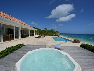 LA VIE EN BLEU ...Stunning New 2 BR Luxury Beach Front Villa on Baie Rouge - Baie Rouge vacation rentals