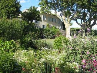Historic Farmhouse Aubignan Bleu in Beautiful Countryside with Private Pool & Sunset Views - Roaix vacation rentals