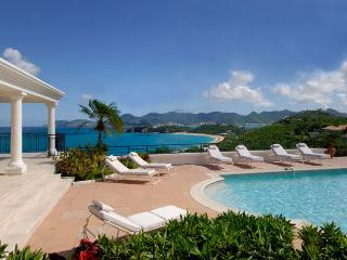 BEAULIEU... Stunning views from this gorgeous villa - Baie Rouge vacation rentals