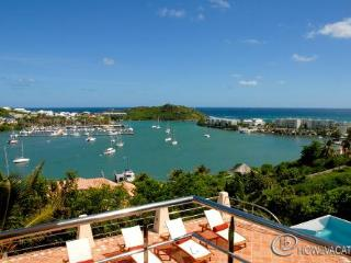 LA BRISE...Nestled Atop a Mountain This  St Martin Villa Overlooks Oyster Pond and Dawn Beach - Oyster Pond vacation rentals