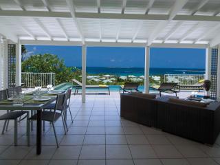 LA SARABANDE...magnificent 180 view over Orient Bay, 3 equal master suites & 2 baths - Hillside vacation rentals