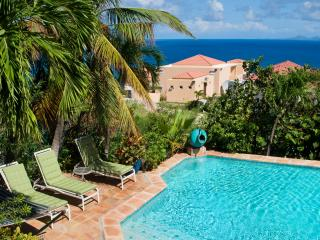 PLATEAU HOUSE... 4 BR Oyster Pond villa with magnificent views from every vantage point... - Oyster Pond vacation rentals