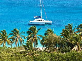 ALEXINA'S DREAM... located on sloping land over looking beautiful Happy Bay and the Bay of Grand Case - Saint Martin-Sint Maarten vacation rentals