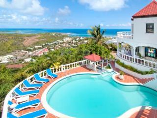 LA GRANDE VIGIE... St Maarten Villa Situated Hilltop In Oyster Pond - Oyster Pond vacation rentals
