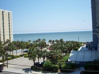 Top Floor Blue Water Resort Condo with a Balcony and Pool - Myrtle Beach vacation rentals