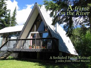 Secluded cabin on trout stream with grand piano! - Lutsen vacation rentals