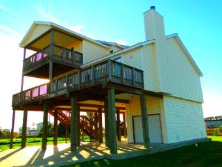 Beautiful home a short walk to beach with view! - Galveston vacation rentals