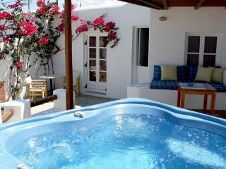 Kamari Villa-A2-w/private outdoor spa/Jacuzzi, in Naxos-Greece - Kastraki vacation rentals