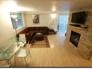 Bright 1Bdrm w Cozy Gas Fireplace On Beautiful Park - Coquitlam vacation rentals