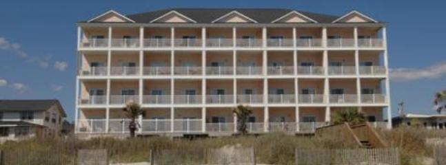 Atlanis Villas Unit 205 is top, left unit - Atlantis Villas 6 BDRM OceanFront/Unit205/POOL TBL - North Myrtle Beach - rentals